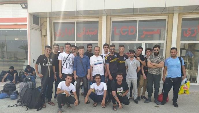 اعتصاب کارگران آذران گستر پالایشگاه نفت سنگین قشم