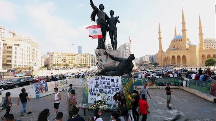 تظاهرات مردم خشمگین در بیروت - 2