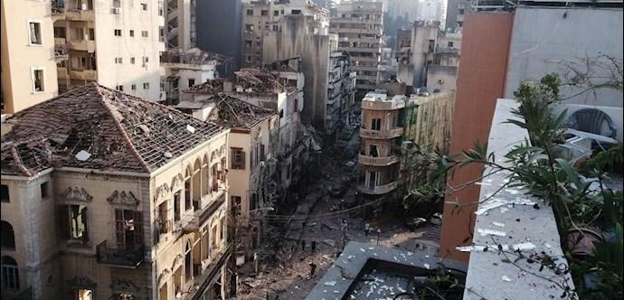 انفجار در بیروت؛ بیش از ۱۰۰ کشته و هزاران زخمی - 1