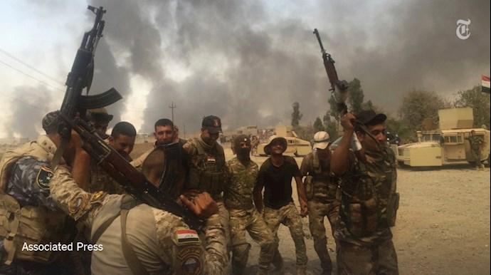 شبه نظاميان عراقی وابسته به رژیم ایران - عکس از آرشیو