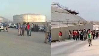 چهاردهمین روز اعتصاب پالایشگاهها و نیروگاهها