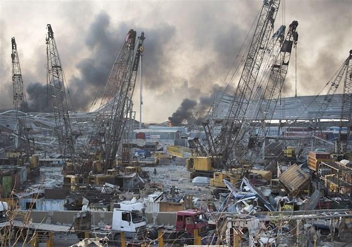 انفجار در بیروت؛ بیش از ۱۰۰ کشته و هزاران زخمی - 9
