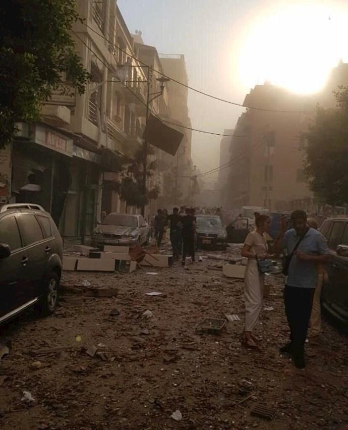 وقوع انفجار مهیب بیروت را لرزاند - 3