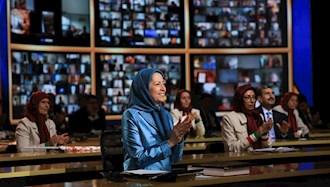 مریم رجوی - گردهمایی جهانی  ایران آزاد - تیر۹۹