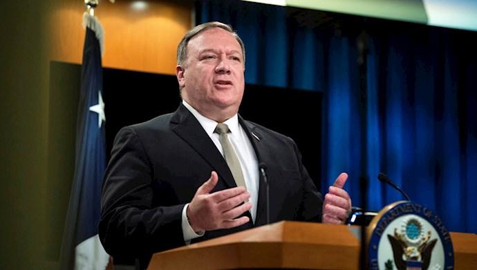 وزیر خارجه آمریکا پمپئو