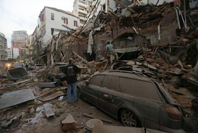 انفجار در بیروت؛ بیش از ۱۰۰ کشته و هزاران زخمی - 7