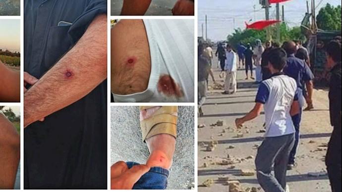 اعتراف کارگزاران رژیم در اهواز به شلیک به روی مردم معترض روستای ابوالفضل