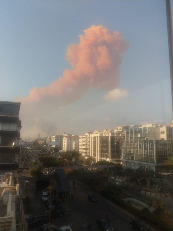 وقوع انفجار مهیب بیروت را لرزاند - 1