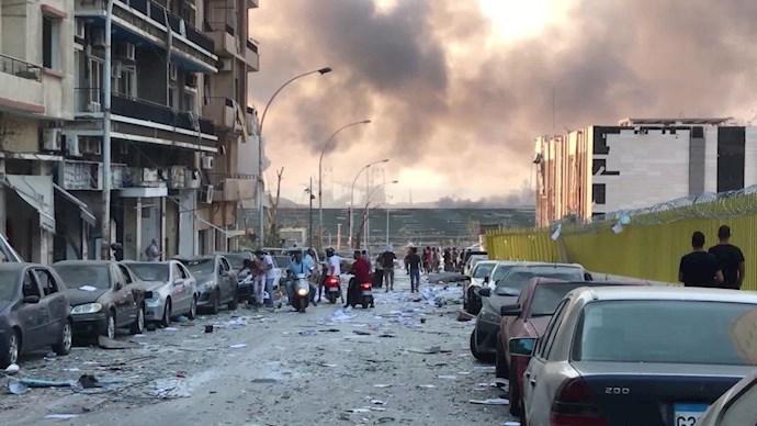 انفجار در بیروت؛ بیش از ۱۰۰ کشته و هزاران زخمی - 19