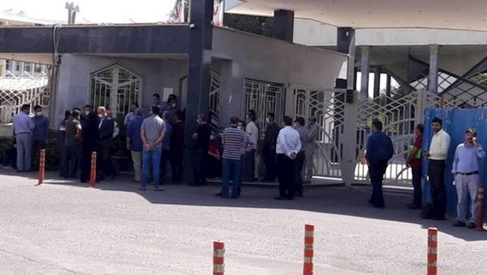 تجمع کارگران  کنتور سازی قزوین
