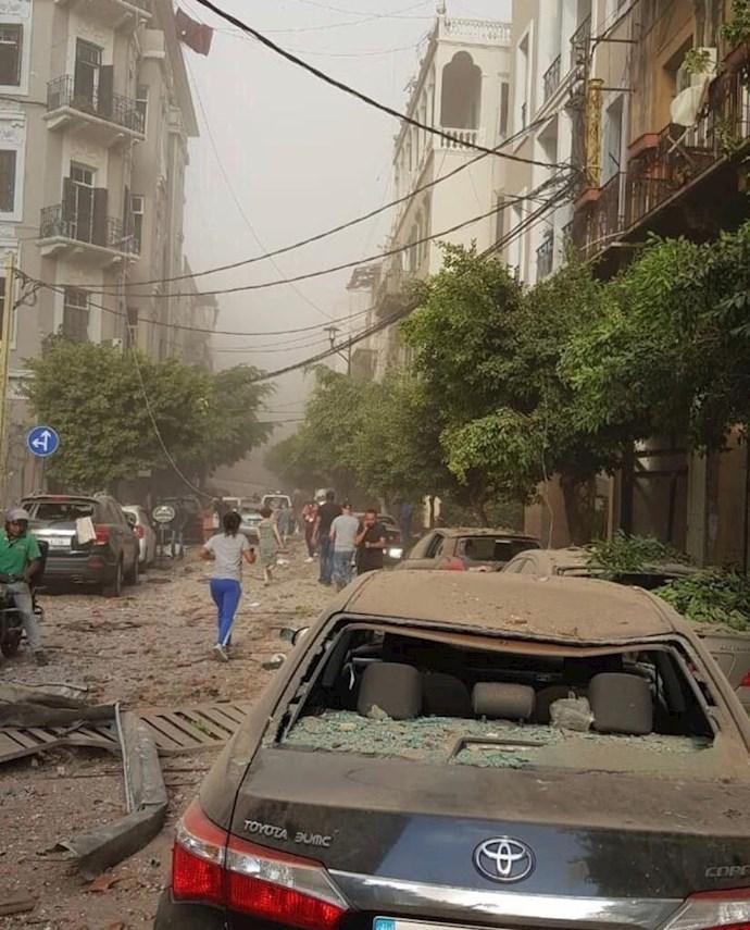 وقوع انفجار مهیب بیروت را لرزاند - 2