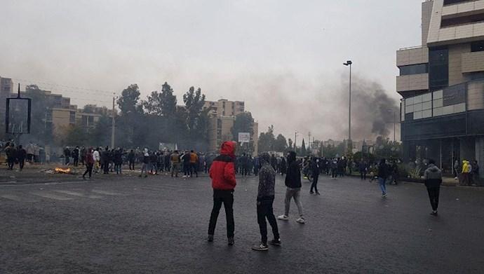 شیراز - قیام آبان ۹۸