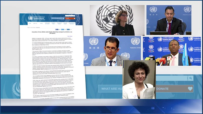 پنج گزارشگر ویژه ملل متحد اعدام نوید افکاری را محکوم کردند
