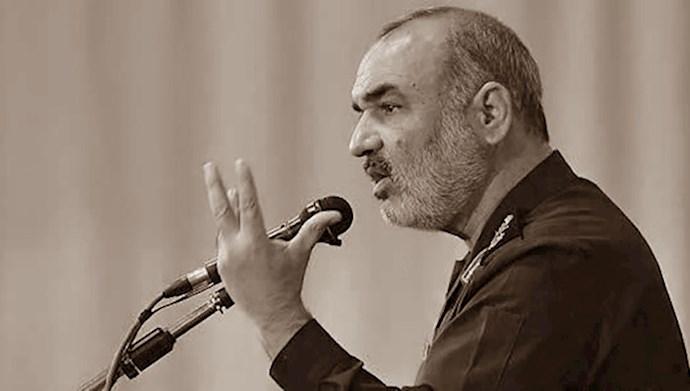 پاسدار سلامی سرکرده سپاه خامنهای