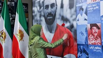 مریم رجوی - گرامیداشت نوید افکاری و قهرمانان ملی ایران