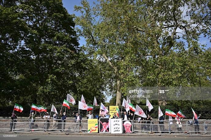 گتی ایمیجز: تظاهرات در لندن علیه اعدام نوید افکاری - 0