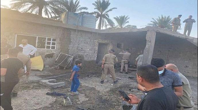 حمله موشکی به فرودگاه بغداد