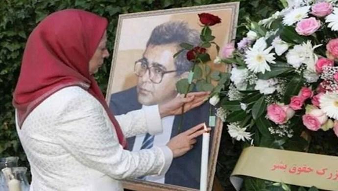 مریم رجوی در سالگرد ترور دکتر کاظم رجوی