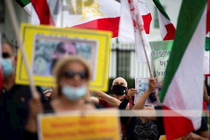 آسوشیتدپرس: تظاهرات در آمریکا علیه حکم اعدام نوید افکاری - 8