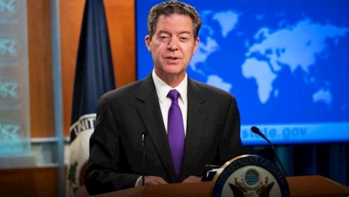 سام براون بک مسئول امور آزادی مذاهب در وزارت خارجه آمریکا
