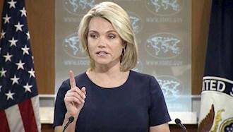 هدر نائرت سخنگوی پیشین وزارت خارجه آمریکا