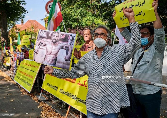 گتی ایمیجز: تظاهرات دربرلین علیه اعدام نوید افکاری - 2