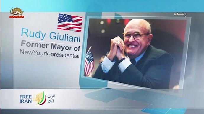 رودی جولیانی - کنفرانس سیاست در قبال ایران، ضرورت تحریم و حسابرسی از رژیم - 0