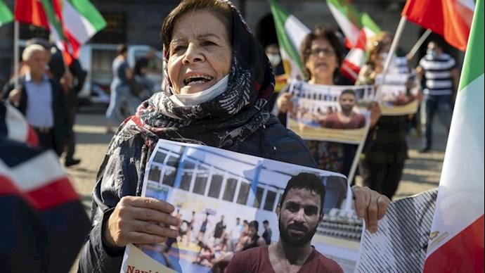 تظاهرات حامیان مقاومت علیه اعدام نوید شورشگر