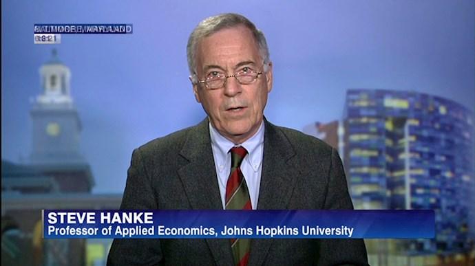 پروفسور استیو هنکی اقتصاددان دانشگاه جانز هاپکینز