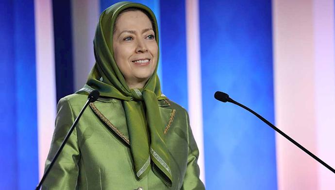 مریم رجوی - کنفرانس سیاست در قبال ایران، ضرورت تحریم و حسابرسی از رژیم