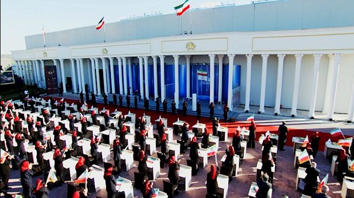 مراسم پنجاه و ششمین سال تاسیس سازمان مجاهدین خلق ایران