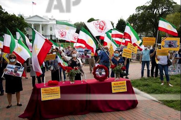 آسوشیتدپرس: تظاهرات در آمریکا علیه حکم اعدام نوید افکاری - 6