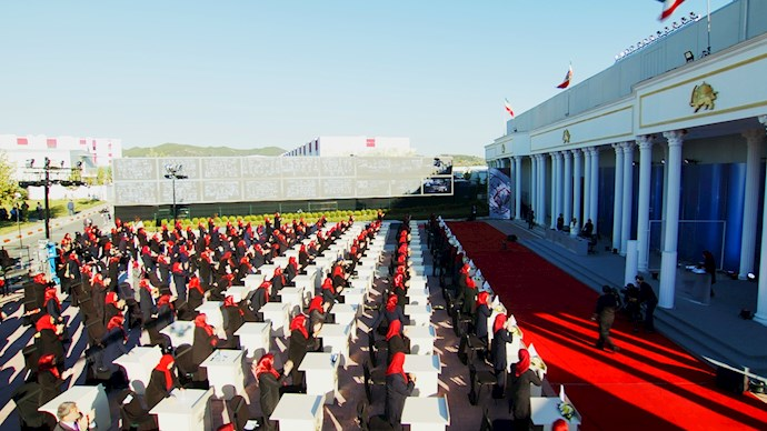 مراسم پنجاه و ششمین سالروز تأسیس سازمان مجاهدین خلق ایران - 1