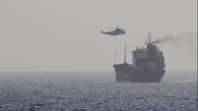 بازرسی کشتیهای رژیم ایران