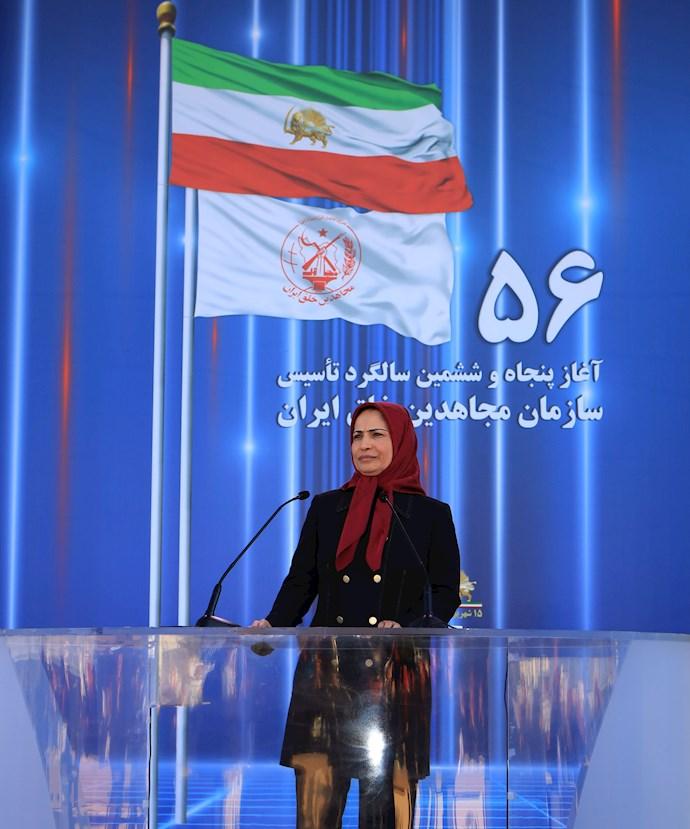 مراسم پنجاه و ششمین سالروز تأسیس سازمان مجاهدین خلق ایران - 3