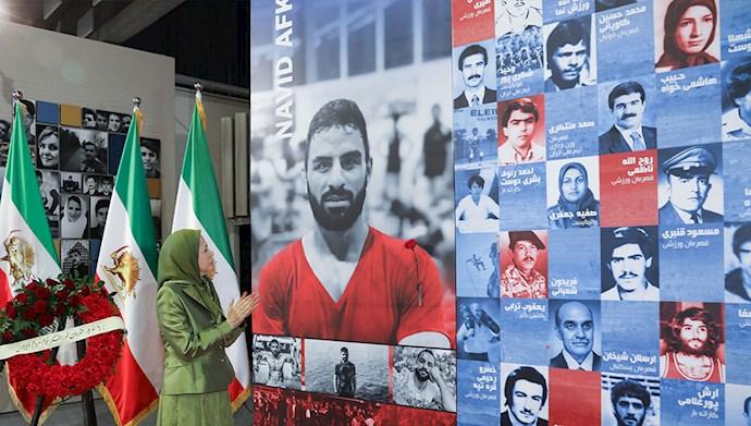 مراسم گرامیداشت نوید افکاری - کنفرانس سیاست در قبال ایران، ضرورت تحریم و حسابرسی از رژیم