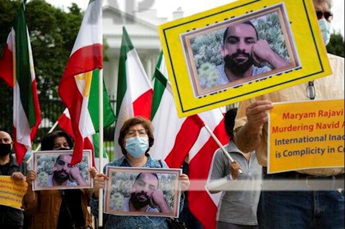 آسوشیتدپرس: تظاهرات در آمریکا علیه حکم اعدام نوید افکاری - 7