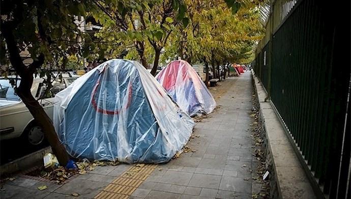 چادرنشینی - عکس از آرشیو
