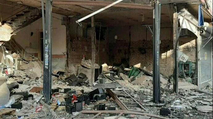 انفجار در نسیم شهر تهران