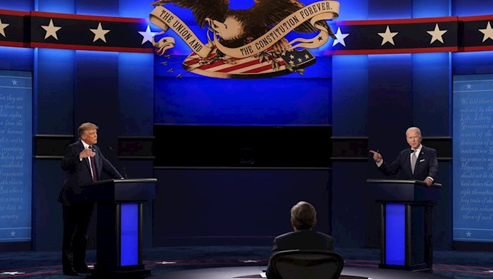 مناظره تلویزیونی جو بایدن و دونالد ترامپ