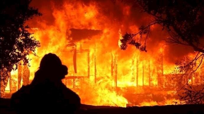 آتشسوزی -  عکس از آرشیو