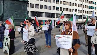 تظاهرات  یاران اشرف نشان و شورشگر در حمایت از مقاومت ایران در  یوتوبوری