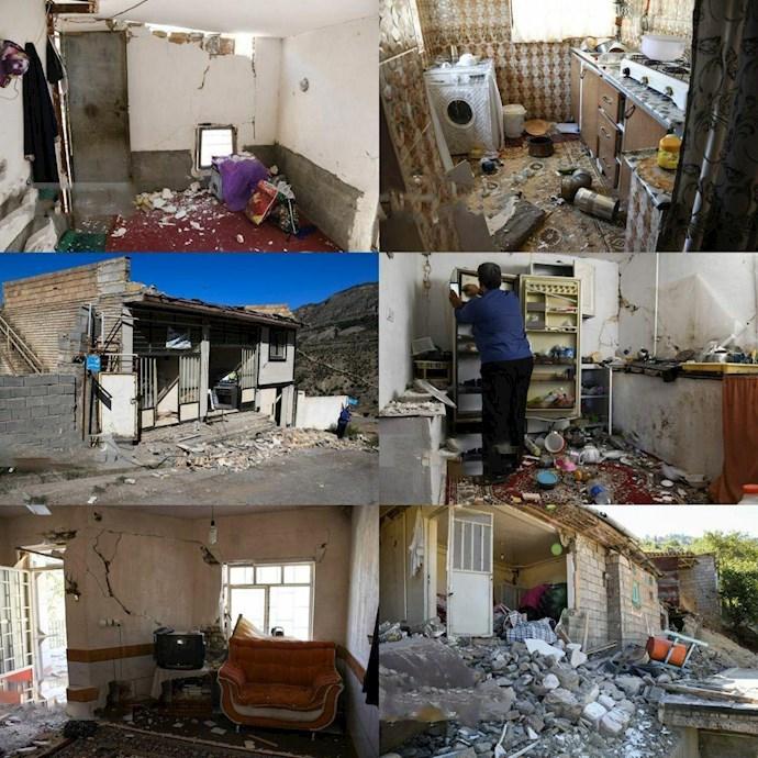 -خسارات زلزله رامیان