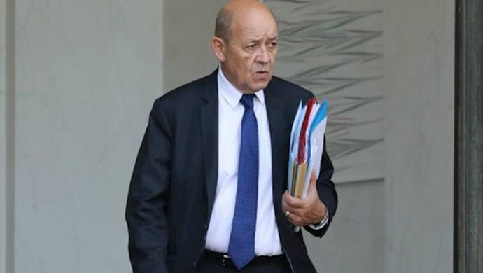 ژان ایو لودریان، وزیر امور خارجه فرانسه