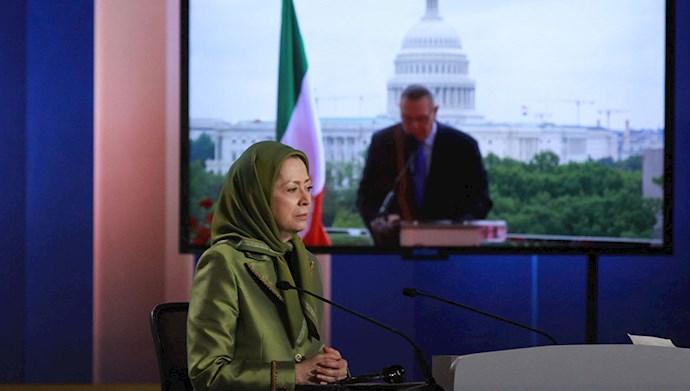 گزارش تصویری از کنفرانس سیاست در قبال ایران ضرورت تحریم و حسابرسی از رژیم، اجلاس در دوسوی آتلانتیک