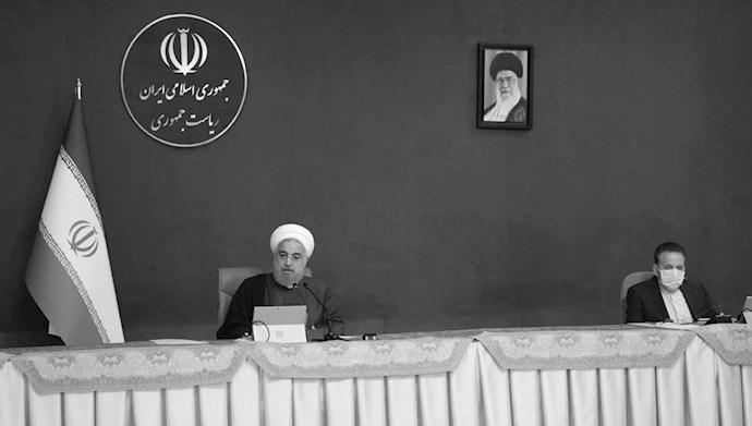 آخوند روحانی در جلسه هیات دولتش