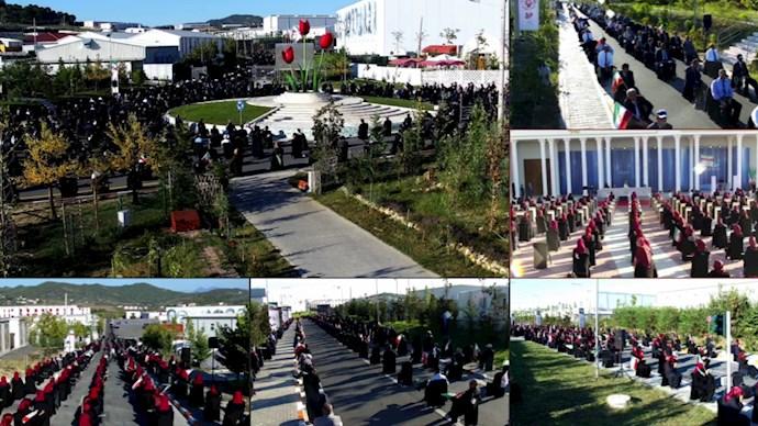 مراسم پنجاه و ششمین سالروز تأسیس سازمان مجاهدین خلق ایران - 0