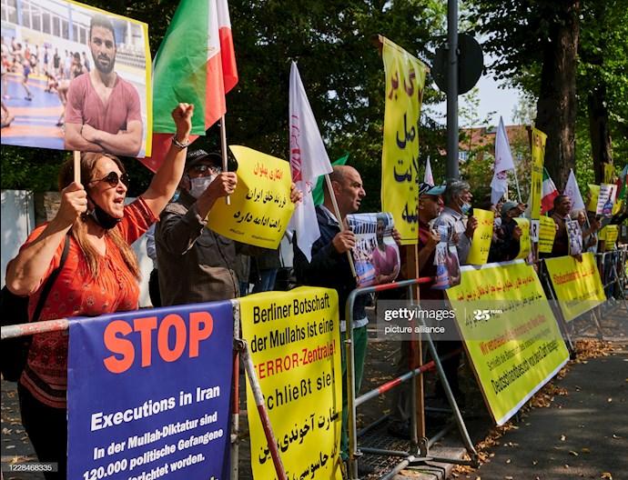 گتی ایمیجز: تظاهرات دربرلین علیه اعدام نوید افکاری - 1