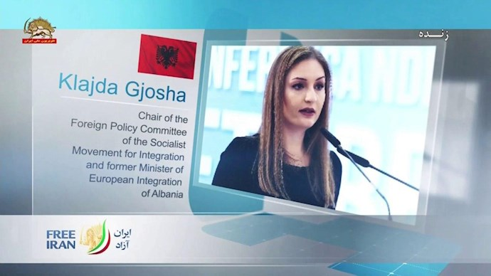 کلایدا گیوشا وزیر پیشین آلبانی برای پیوستن به اتحادیه اروپا - 0