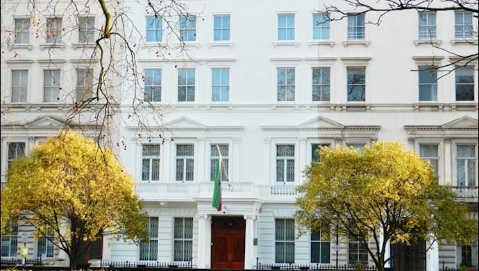 سفارت رژیم در انگلستان